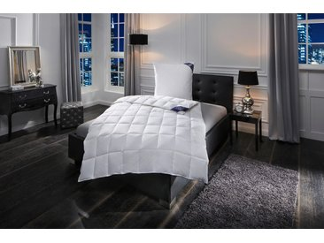 Daunenbettdecke + 3-Kammer-Kopfkissen, »Premium«, Excellent, leicht, Material Füllung: Gänsedaune/-feder