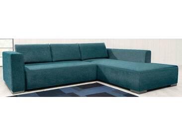 TOM TAILOR Polsterecke XL »HEAVEN STYLE COLORS«, wahlweise mit Bettfunktion und Bettkasten, grün, Struktur fein TBO