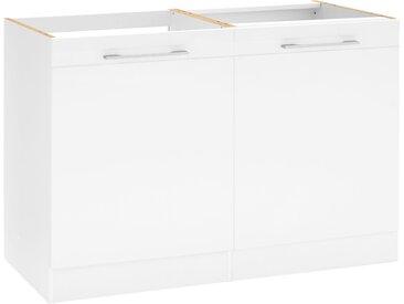 HELD MÖBEL Spülenschrank »Mito« Breite 120 cm, weiß