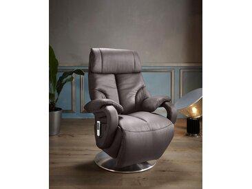 Places of Style TV-Sessel »Gisborne«, in Größe L, wahlweise mit Motor und Aufstehhilfe, braun, NaturLEDER®