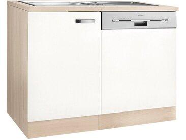 OPTIFIT Spülenschrank »Faro«, mit Tür/Sockel für Geschirrspüler, weiß