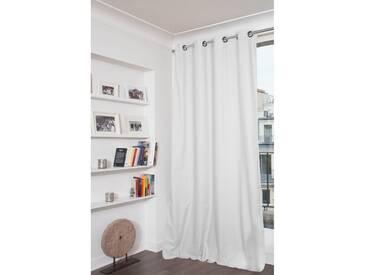 Blickdichter Vorhang mit Beschichtung in Weiß - Moondream