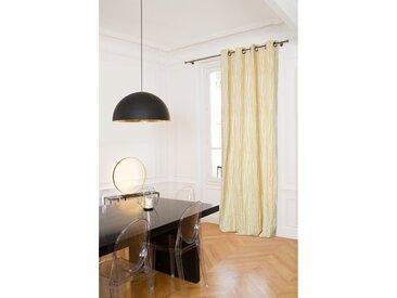 Blickdichter Vorhang in Gelb - Moondream