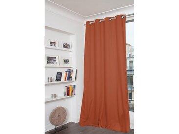 Blickdichter Vorhang mit Beschichtung in Orange - Moondream