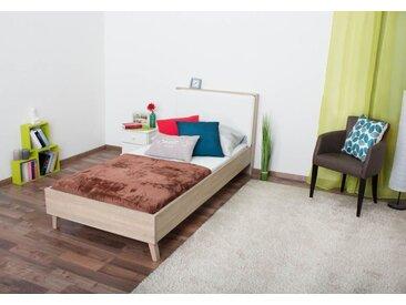 Einzelbett / Gästebett inkl. Matratze Marousi - Abmessungen: 90 x 200 cm