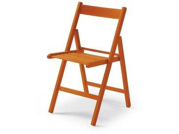 Klappstuhl Maridi 228, Farbe: Orange 79 x 48 x 43 cm (H x B x T)