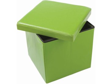 Faltbox Matteo 07, Farbe: Grün - Abmessungen: 38 x 38 x 38 cm (H x B x T)