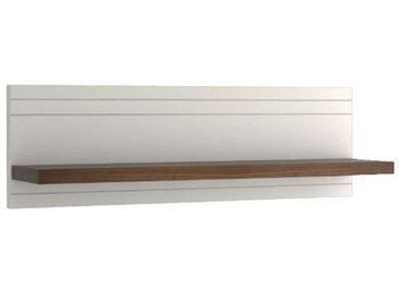 Hängeregal Uricani Nuss/Weiß 32 - Abmessungen: 40 x 180 x 27,50 cm (H x B x T)