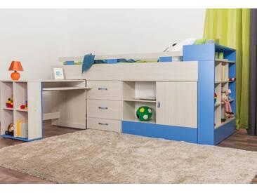 Etagenbett Mit Schreibtisch Und Kommode : Hochbetten mit schreibtisch online kaufen moebel