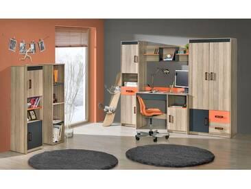 Kinderzimmer / Jugendzimmer Komplett   Set F Marcel, 6 Teilig, Farbe: Esche