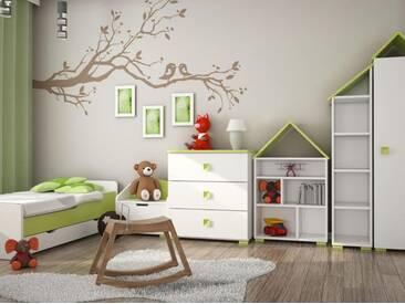 Kinderschlafzimmer Komplett Set   Kinderzimmer Komplett   Set A Daniel,  6 Teilig, Farbe