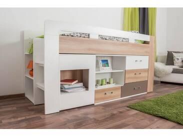 Etagenbett Mit Schreibtisch Günstig : Hochbetten mit schreibtisch online kaufen moebel