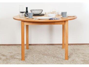 Tisch Kiefer massiv Vollholz Erlefarben Junco 235B (rund) - Durchmesser: 120 cm