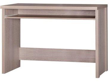 Jugendzimmer - Schreibtisch Tobias 08, Farbe: Braun - 77 x 110 x 50 cm (H x B x T)