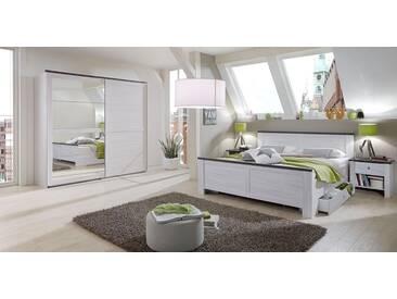 Easy Möbel Schlafzimmer Komplett   Set Alakoss A, 4 Teilig, Farbe: Weiß