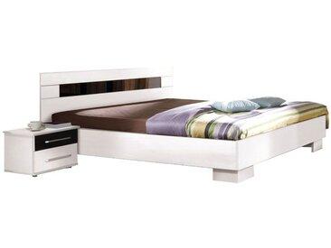 Doppelbett Patras Weiß - Abmessungen: 160 x 200 cm