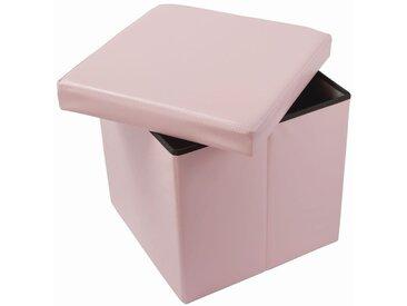 Faltbox Matteo 06, Farbe: Rosa - Abmessungen: 38 x 38 x 38 cm (H x B x T)