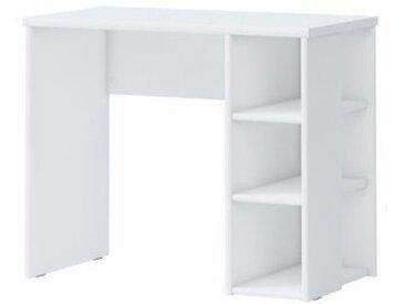 Kinderzimmer - Schreibtisch Benjamin 35, Farbe: Weiß - 75 x 91 x 50 cm (H x B x T)