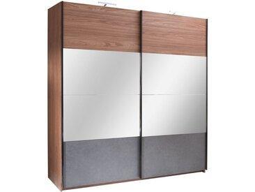 Schiebetürenschrank / Kleiderschrank Serres - Abmessungen: 219 x 200 x 67 cm (H x B x T)