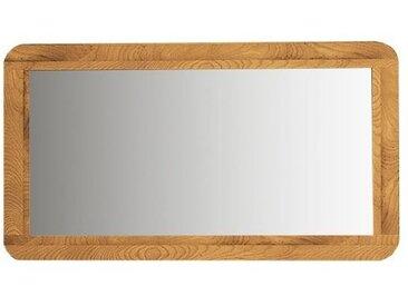 Spiegel Timaru 20 Wildeiche massiv geölt - Abmessungen: 60 x 90 x 2 cm (H x B x T)