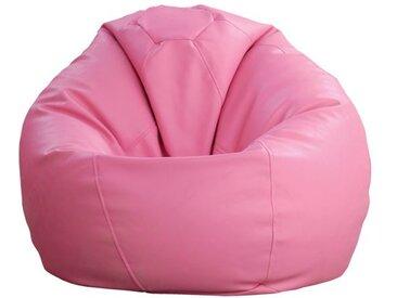 Sitzsack Bassila 08, Farbe: Rosa - Abmessungen: Ø 80 x 90 cm