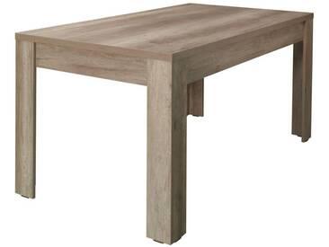 Tisch 160x90 Cm MDF, Farbe: Canyon Eiche Optik