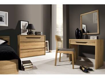 Schlafzimmer Komplett - Set E Kyme, 5-teilig, teilmassiv, Farbe: Wildeiche natur