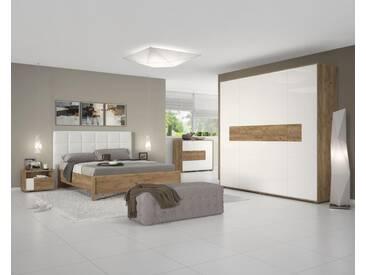 Easy Möbel Schlafzimmer Komplett   Set A Manase, 5 Teilig, Farbe: Eiche