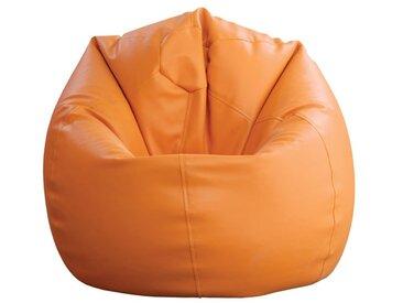 Sitzsack Bassila 10, Farbe: Orange - Abmessungen: Ø 80 x 90 cm