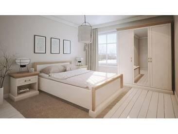 Easy Möbel Schlafzimmer Komplett   Set E Badile, 4 Teilig, Farbe: Kiefer
