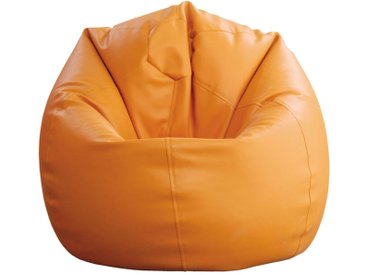 Sitzsack Bassila 15, Farbe: Orange - Abmessungen: Ø 50 x 60 cm