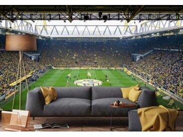 Borussia Dortmund Fototapete BVB Fan Choreo, 350 x 250 cm mehrfarbig