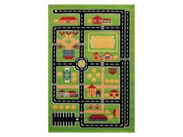 Impression Kinderteppich Rhapsody Straßenteppich, grün, 120 x 170 cm
