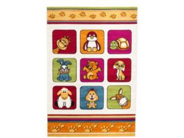 Impression Kinderteppich Rhapsody Niedliche Tiere, mehrfarbig, 120 x 170 cm