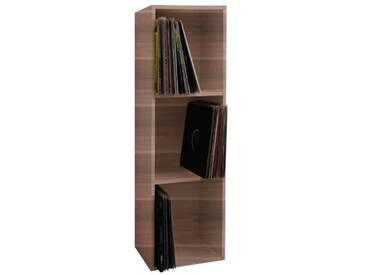 Regal Platto Schallplatten 115x34x29 cm braun  Erwachsene