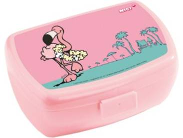 NICI Brotdose Flamingo rosa