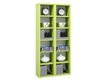 Standregal Milano 92x42x20 cm grün