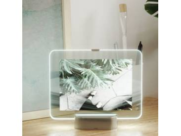 umbra Bilderrahmen mit LED Beleuchtung Glo 13 x 18 cm silber  Erwachsene