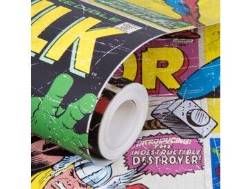 Decofun Papiertapete Marvel Helden, 10,05 m x 53 cm