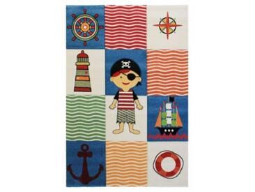 Impression Kinderteppich Rhapsody Piratenwelt, weiß, 200 x 290 cm