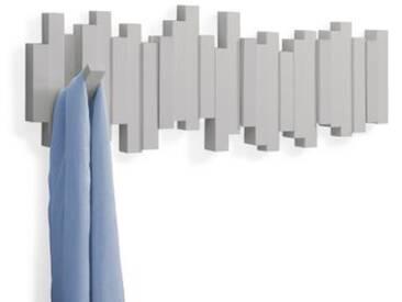umbra Wand Garderobe Sticks Multi Hook 5 Haken grau