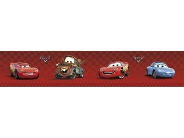 Decofun Bordüre Disney Cars, 5 m x 10,6 cm rot