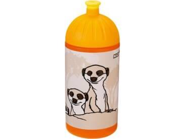 NICI Trinkflasche Erdmännchen, 500ml orange