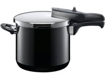 Silit Sicomatic Schnellkochtopf t-plus 6,5 L schwarz