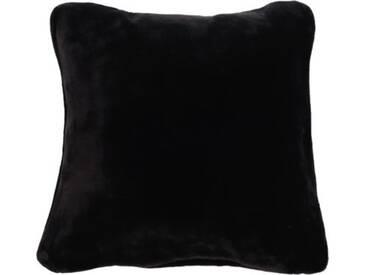 Gözze Premium Kissen Cashmere-Feeling 50x50 cm schwarz