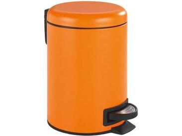 "WENKO Kosmetik Treteimer ""Leman"" 3l orange"