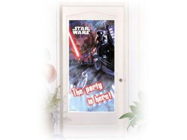 Procos Türposter Star Wars & Heroes 76 x 152 cm blau/rot