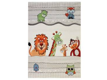 Impression Kinderteppich Rhapsody Tierwelt, creme, 200 x 290 cm