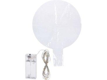 """Leuchtobjekt """"Ballon"""", warmweiß, 30 LEDs auf Lichterkette, H53 cm, batteriebetrieben"""