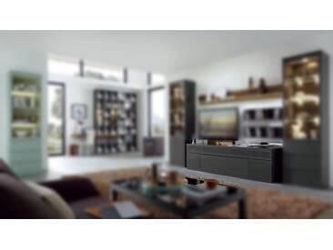RMW Rietberger Möbelwerke Linaro/Enjoy Sideboard 41047 Lack graphit mit Furn-Sound-System